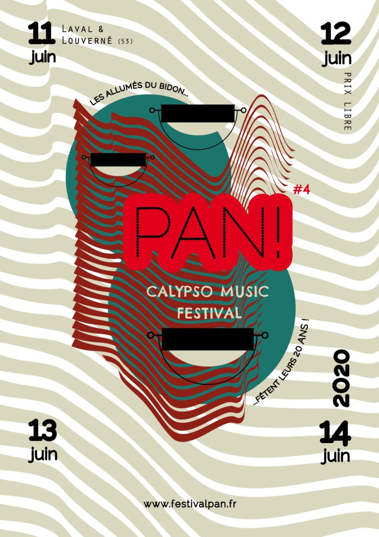 Burosuper affiche festival pan