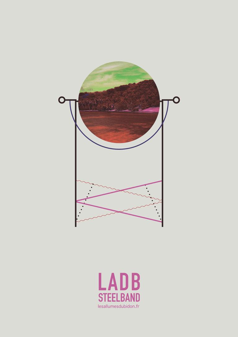 Affiche ténor LADB Steelband