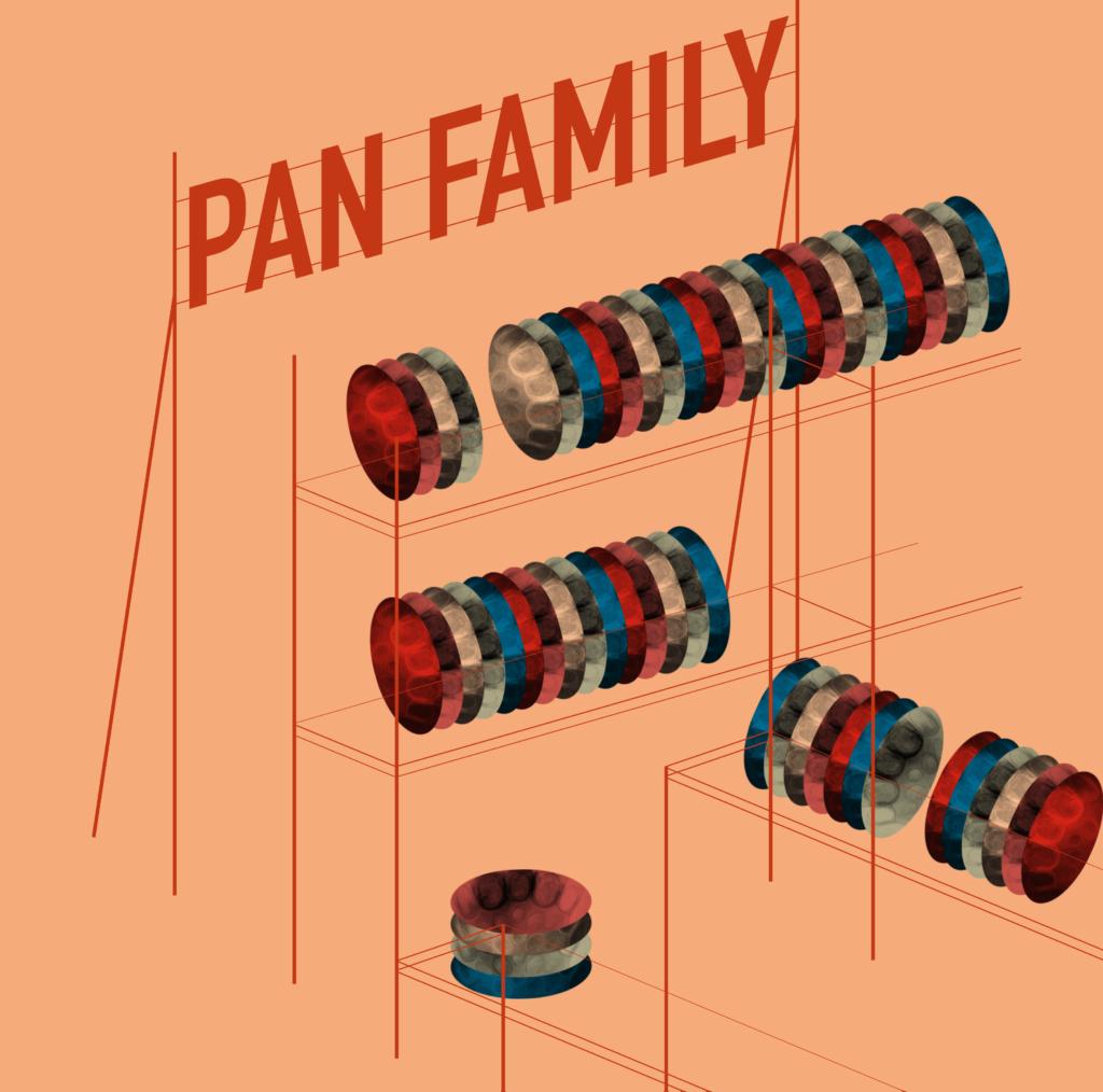 Recto album vinyle PAN Family