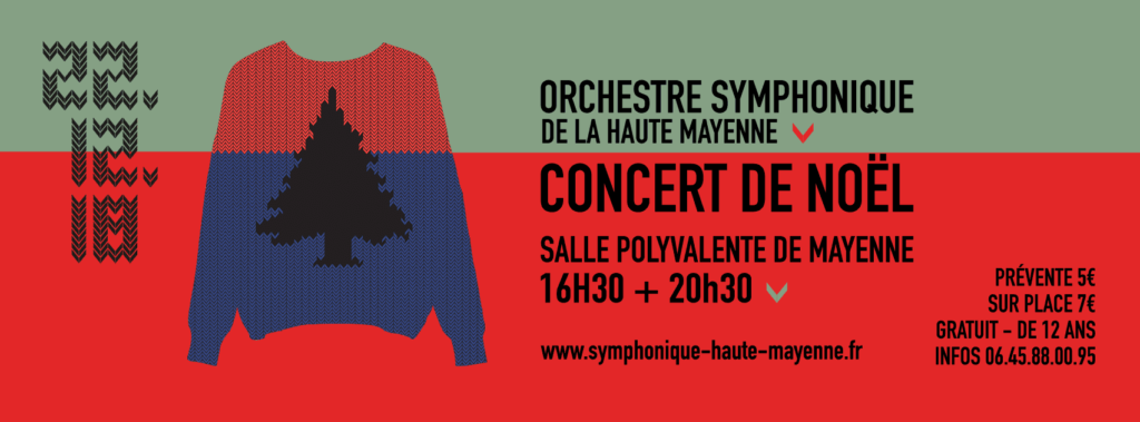 Couverture facebook Icone Orchestre Symphonique de Haute Mayenne 2018 - Burosuper