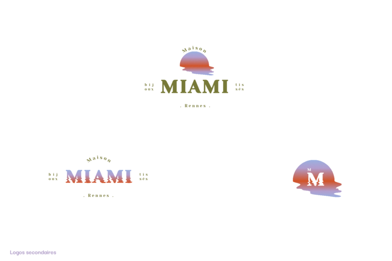 Logos alternatifs Maison Miami